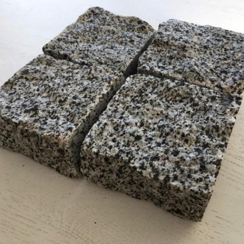 Gray Ukraine gránit vágott hasított kocka kő